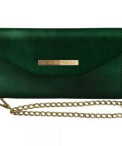 IDEAL MAYFAIR CLUTCH VELVET GREEN GALAXY S10 PLUS
