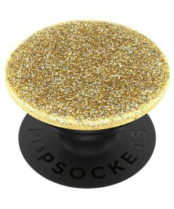 Universele PopSocket Glitter Gold